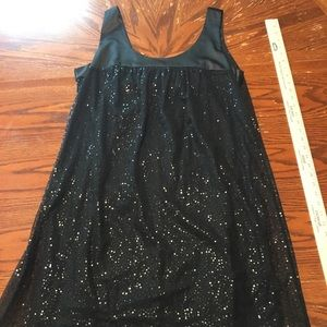 Jonathan Martin Black Sequin Cocktail Dress